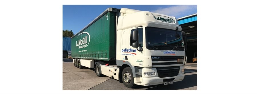 Palletline announces the return of I J McGill Transport to the network
