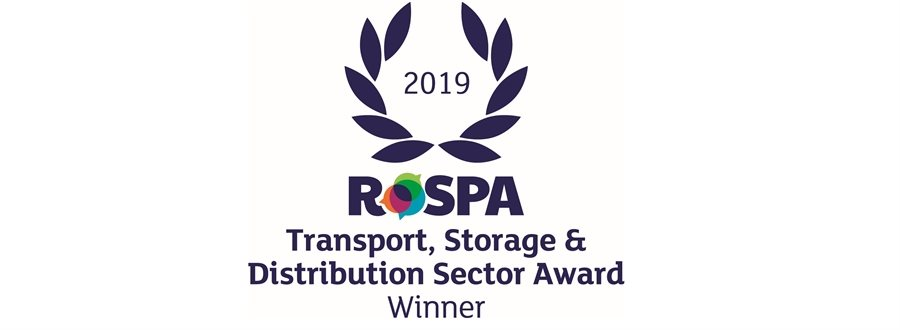 Palletline Crowned with RoSPA Transport, Storage and Distribution Best in Sector Award