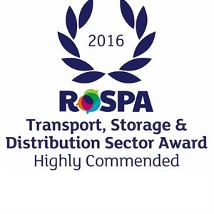 Highly Commended in the Transport, Storage & Distribution Industry Sector